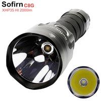 SOFIRN C8G мощный 21700 светодиодный фонарик CREE SST40 2000LM 18650 горелка с диаграммами ATR 2