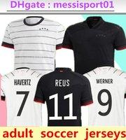 2021 Alemanha Soccer Jersey National Team Man Man Gnaby Werner Havertz Camisa Deutscher Sane Kroos Reus Futebol Camisas 20/21