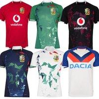 20 21 Leones irlandeses británicos Rugby Jersey 2021 Rugbys Jerseys Capacitación en el hogar Tamaño S-5XL