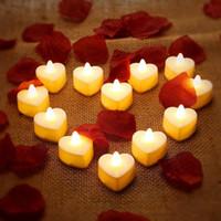 Decorazione del partito 6 indossare lo styling della candela dell'amore / lampada a led - scheda leggera (senza batteria del tasto LR1130)