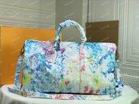 Herren Duffle Handtasche Frauen Taschen Handgepäck Luxus Designer Reisetasche Männer Cleather Handtaschen Große Kreuzkörper M41416 M57486