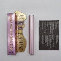 Ögonfransar makeup mascara förlängning långvarig curling ögonfransborste med rosa aluminiumrör 8ml dhl