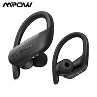 Mpow Flame Lite TWS Bluetooth Auricolari IPX7 Impermeabile impermeabile Cuffie senza fili Bass + Vero auricolari wireless Touch Control per telefono