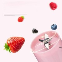 MIni Juice Cup Outdoor Portable 1200mAh Battery USB Charging Juice Blender Fruit Jucer 270ML FREE FAST SEA SHIPPING AHB6164