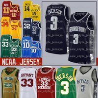NCAA DURANT 12 JA 23 MICHAEL MORANT DONCIC IIVERSON Curry Butler Harden College Баскетбол Джерси Уильямсон Сион