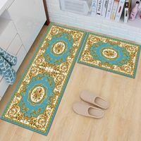 Cushion Decorative Pillow Anti-Slip Water Absorbed Floor Mats Door Kitchen Blanket Carpet With European Styles