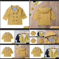 Outwear Baby Clothing Baby, & Maternitybaby Winter High Quality Fashion Double Breasted Solid Coat For Kids Wool Trench Children Outerwear1 D
