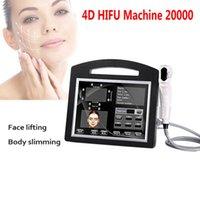 Professional 3D 4D HIFU Machine 20000 Coups d'intensité Haute Intensité Face Face Face Face Soulever Entrée de rides Serrure Serrer Corps Minceur Beauté