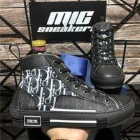 Progettisti di alta qualità Scarpe Dior B23 Oblique B22 B27 Tecnologia Tecnologia Sneakers Sneakers Uomo Donna Moda Traspirante Piattaforma per esterni Casual Casual Trainer Sneaker con scatola
