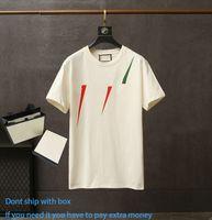 Sommer Mode Unisex Kurzarm Top Gedruckt Casual T-Shirt Atmungsaktiv Rundhals Kernteile mit verschiedenen Farbmustern Paare Kleid
