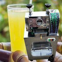 Camping de campamento Productos al por mayor Manual de caña de azúcar Juicer Comercial Caña de azúcar Aplastador Máquina de fabricante de jugo pequeño