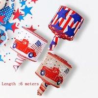 Party Dekoration Unabhängigkeitstag Schöne Ribbon Festliche Druckgarn Seide Geschenk Geschenk Seil Satin Für Urlaub Farbe Zuhause