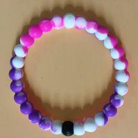 2021 Types de bracelet de silicone Nino de requin avec une étiquette d'origine et une pochette personnelle de la neige de la mer morte du bracelet Pandora de montagne