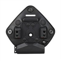 PPT Airsoft Modular Bungee Shroud Helmet Accessories NVG Mount Adapter Cuttlefish Dry for L4G24 for One&Three Hole Helmets W  Integrated Light CL24-0241