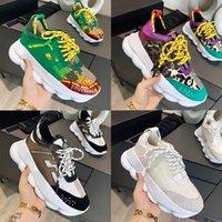 2021 Moda Rahat Ayakkabılar Yansıtıcı Yükseklik Reaksiyon Sneakers 2.0 Siyah Beyaz Kırmızı Çiçek Çok Renkli Süet Tan Pembe Koyu Yeşil Sarı Erkek Kadın Eğitmenler