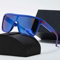 Mode Classic Designer Polarisiert 2021 Luxus Sonnenbrillen für Männer Frauen Pilot Sonnenbrille UV400 Eyewear Metallrahmen Polaroidobjektiv mit Kasten
