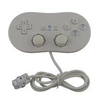Controller di gioco Joysticks 2pcs alla moda classico vendita cablata 1 controllore di generazione Gamepad Joystick Joypad per W-I-I