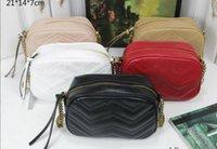 Top quality leather 5A Women's Marmont crossbody Bags Designer fashion shopping Evening Camera Cases cards pockets handbag Shoulder Bag