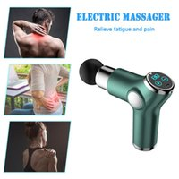Accessories Portable Electric Massager Fascia Guns USB Rechargeable Fitness Back Neck Deep Tissue Muscle Body Relaxation Pain