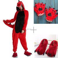 Kigurumi Unicorn Licorne Onesies Vuxen Unisex Dinosaur Cosplay Party Wear Pyjamas Barn Kids Pajamas Sleepwea