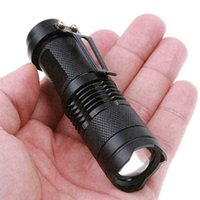 Flashlights Torches Mini UV Ultraviolet LED Fluorescent Lamp 365nm Inspection Light Torch Zoom