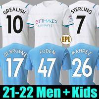 21 22 fashion Men shirt red and black color new season home away third soccer jersey  2021 2022 football shirt Men + Kids kit set