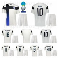 فنلندا 2021 2022 Soccer 10 Teemu Pukki Jersey Set 9 Fredrik Jensen Pyry Soiri Tim Sparv Juhani Ojala Joel Pohjanpalo كرة القدم
