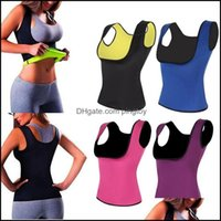 Running Wear Athletic Outdoor Apparel Sports & Outdoorsrunning Jerseys Neoprene Womens Corsets Chest Push Up Waist Trainer Body Sweat Suits