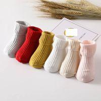 Chaussettes nouveau-nées coton botties bottillons garçons filles accessoires vêtements enfants vêtements 1-2-3 ans printemps automne b7581