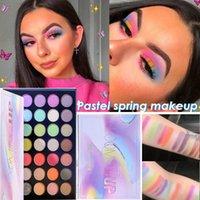 Blower up pastello ombretto pallete colorato occhio ombretto impermeabile glitter trucco alto pigmenti