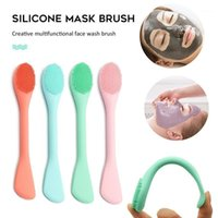 PCS Profissional Double Head Silicone Máscara Facial Escova Nose Pea Cleaner Removedor Face Exfoliating Care Maquiagem Escovas1