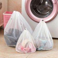 الرباط شبكة الغسيل حقيبة كيس الدقيقة الحبيبة البرازيلي الملابس الداخلية واقية مطوية مكافحة تشوه حجم فتح حجم كبير غسل أكياس صافي كيس