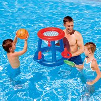 Pool & Accessories Inflatable Swim Football Goal Basketball Game Water Sports Float Children Party Toy Accessory Handball
