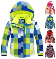 Skiing Jackets Kids Ski Suit Children Windproof Waterproof Warm Fleece Snow Girls Boys Winter And Snowboarding Jacket Pants Set