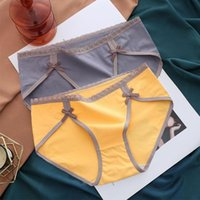 Women's Panties 3 PCS Lot Women Briefs Sexy Breathable Comfortable Underwear Solid Female Lingerie Mid-Rise Cute Teen Girl Underpants