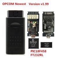 2021 V1.95 OPCOM V1.59 1.65 OP COM V1.70 V1.78 Narzędzie do OPEL OBD2 OP-COM High Speed Interface Kabel USB Diagnostyka z układem PIC18F458