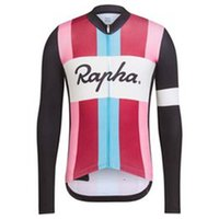 Rapha Pro Team Primavera / Autum Hombres Ciclismo Mangas largas Jersey Camisas Racing Camisas Riding Bicycle Tops transpirable deportes al aire libre Maillot S21050724