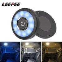 Véhicule à dôme carré Lampe de plafond intérieur Magnétique LED Night Night Car Reading Light Hackse Roof Kits