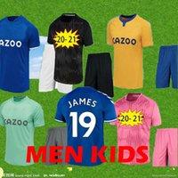 الرجال + Kids Kit 2020 2021 James Rodriguez Soccer Jersey Richarlison Calvert Lewin Football Shirts Men Kits 20 21 Robin Olsen حارس مرمى جيرسي