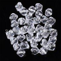 Branelli di vetro cristallino bianco chiaro 4mm # 5301 perline distanziali per jewerjk facendo 2 w2