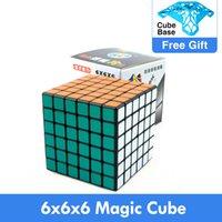 6x6x6 shengshou عالية السرعة مكعب لغز ماجيك 6 طبقات المهنية 6.7 سنتيمتر sengso 6x6 التعلم التعليمية كوبو ماجيكو اللعب