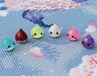 Herramientas de artesanía Diamond Painting Imán Minders Cubierta Portero Localizador Colorido Cross Stitch Art Accesorios