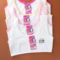12 лет белье нижнее белье маленькие груди хлопчатобумажные бюстгальтеры для молодой девушки одежда топы для детей нижнее белье 921 х2