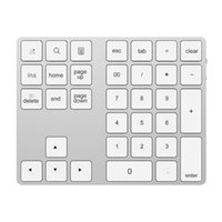 Keyboards Numeric Keypad 2-in-1 BT Keyboard USB-C 3.1 HUB Features 34-key Wireless With Two Extended USB3.0 Interfaces