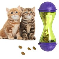 Cat Toys Pet Dog Feeder Plastic Funny Food Dispenser Treat Ball Puppy Leakage Toy NW