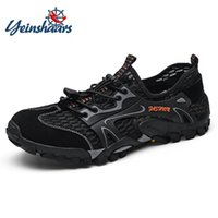 Sandals Summer Casual Shoes Fashion Men Outdoor Water Breathable Beach Slip-on Mesh Sneakers Barefoot De Hombre