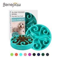 Benepaw Nontoxic Fun Slow Feeder Dog Bowl Food Nonslip Pet Eat Feeding Maze Interactive For Large Medium Small Dogs 210908
