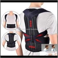 Suporte Correção Backbone Back Back Posture Posição Corretor Resto do Ombro Brace 6cou Sl5im