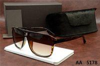 top Designer Tom Luxury New Brand Sunglasses Pilot Men Women Sunglasses Uv400 Eyewear Glasses Frame Polaroid Lens Ford 0392 5178 5179 for