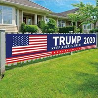 50*250CM Trump 2024 USA Presidential Campaign Election Big Banner Accessories Keep America Great Letters Printed Garden House Flag G49KY08
